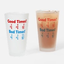 MATH/MATHEMATICS Drinking Glass