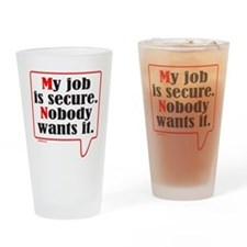 MY JOB Drinking Glass