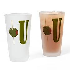 OLIVE U (I LOVE YOU) Drinking Glass