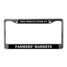Farmer's Market License Plate Frame