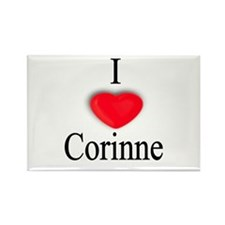 Corinne Rectangle Magnet
