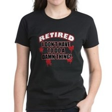 Funny retired Tee