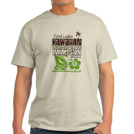 Hawaiian Slack Key Immersion Light T-Shirt