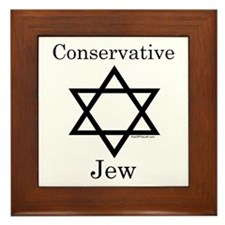 Conservative Jew Framed Tile