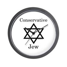 Conservative Jew Wall Clock