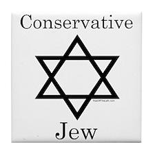 Conservative Jew Tile Coaster