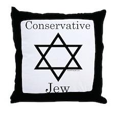 Conservative Jew Throw Pillow
