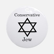 Conservative Jew Ornament (Round)