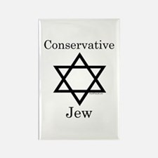 Conservative Jew Rectangle Magnet