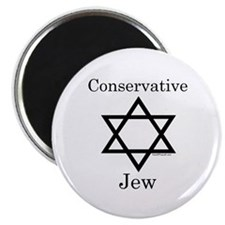 "Conservative Jew 2.25"" Magnet (10 pack)"