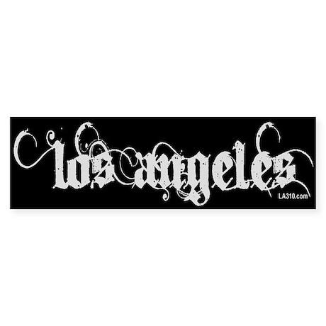 Los Angeles Sticker (Bumper)