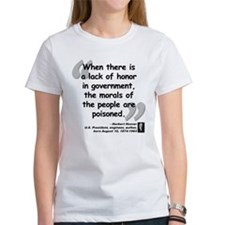 Hoover Morals Quote Tee