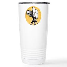 vintage movie camera Travel Coffee Mug