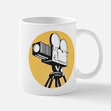 vintage movie camera Mug