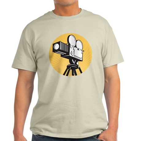 vintage movie camera Light T-Shirt