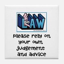Commercial Lawyer's Tile Coaster