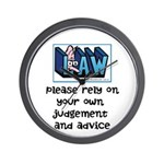 Commercial Lawyer's Wall Clock