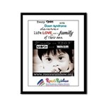 NDSC Event Graphic Framed Panel Print