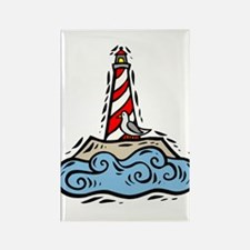 Lighthouse101 Rectangle Magnet