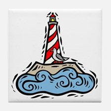 Lighthouse101 Tile Coaster
