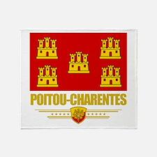 Poitou-Charentes Throw Blanket