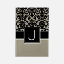 Monogram Letter J Gifts Rectangle Magnet