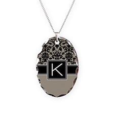 Monogram Letter K Gifts Necklace