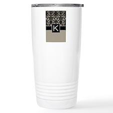Monogram Letter K Gifts Travel Mug