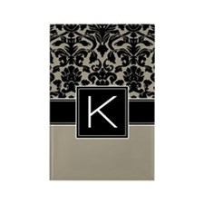 Monogram Letter K Gifts Rectangle Magnet