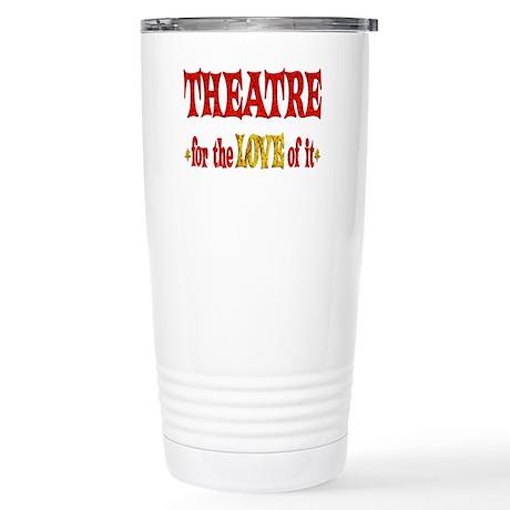 Theatre Love Stainless Steel Travel Mug