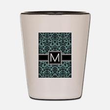 Monogram Letter M Shot Glass
