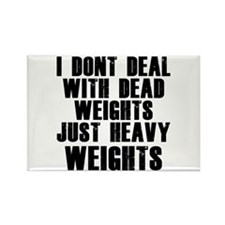 Dead weights Rectangle Magnet
