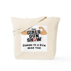 Girls Gun Show Tote Bag