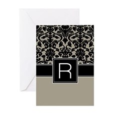 Monogram Letter R Gifts Greeting Card