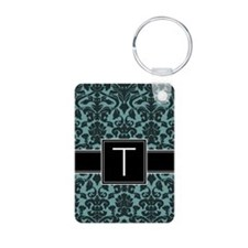 Monogram Letter T Gifts Keychains
