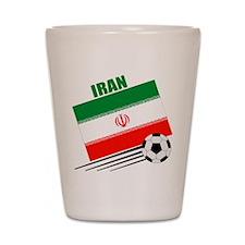 Iran Soccer Team Shot Glass