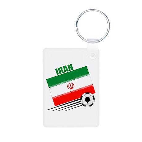 Iran Soccer Team Aluminum Photo Keychain