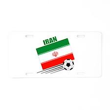 Iran Soccer Team Aluminum License Plate