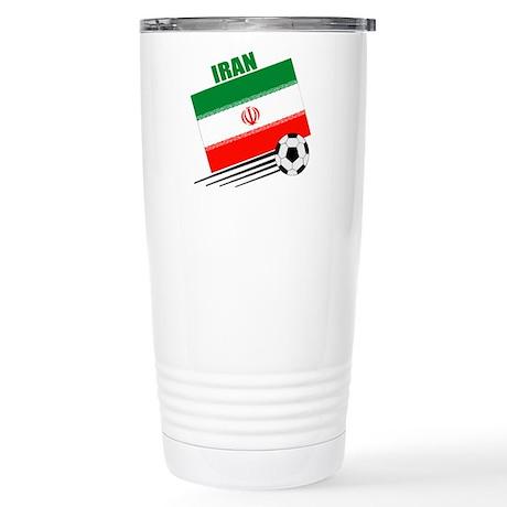 Iran Soccer Team Stainless Steel Travel Mug
