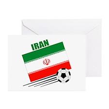 Iran Soccer Team Greeting Cards (Pk of 10)