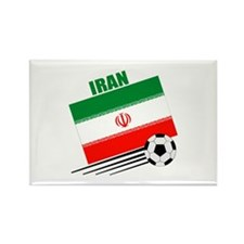 Iran Soccer Team Rectangle Magnet