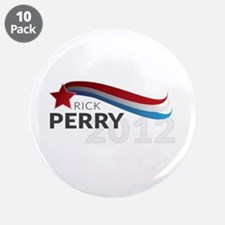 """Rick Perry 3.5"""" Button (10 pack)"""
