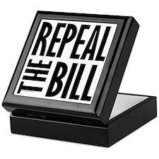 REPEAL the BILL Keepsake Box