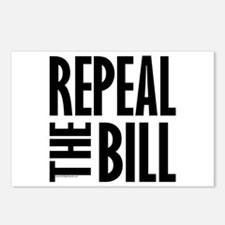 REPEAL the BILL Postcards (Package of 8)