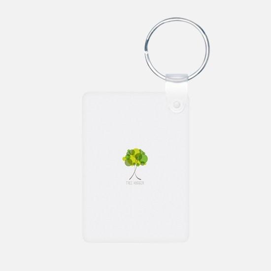 Tree Hugger Keychains