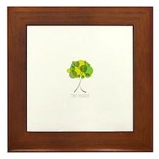 Tree Hugger Framed Tile