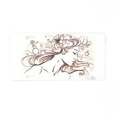 Ophelia Aluminum License Plate