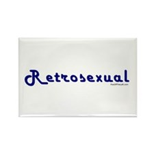 Retrosexual Rectangle Magnet
