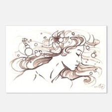 Ophelia Rising Postcards (Package of 8)