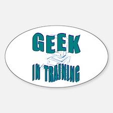 Geek In Training(Oval)